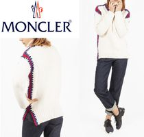 18AW【MONCLER】MAGLIONE TRICOT★ざっくりニットセーター