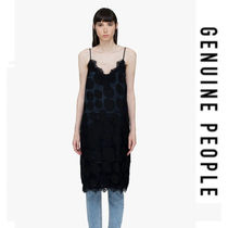 【GENUINE PEOPLE】●日本未入荷● Silk Slip Midi Dress