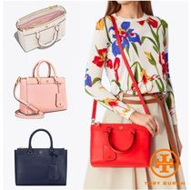 【TORY BURCH】Robinson Small Double-Zip Tote * 2way bag