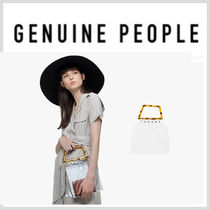 【GENUINE PEOPLE】●日本未入荷●Tortoise Shell Handle Bag