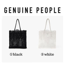 【GENUINE PEOPLE】●日本未入荷●Lace Shoulder Bag