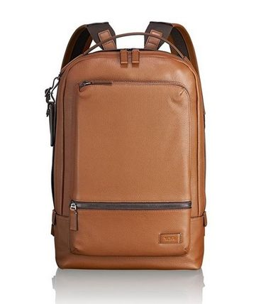 TUMI バックパック・リュック Tumi ★ 63011 Harrison Bates Backpack Umber Pebbled Leather