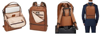 TUMI バックパック・リュック Tumi ★ 63011 Harrison Bates Backpack Umber Pebbled Leather(2)