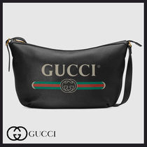 GUCCI プリント ハーフムーン ホーボーバッグ★GUCCI★