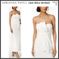 Adrianna Papell(アドリアナパぺル) ドレス-ロング 【海外限定】AdriannaPapellガウン☆Strapless Ruched Gown, Reg
