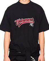 ☆VETEMENTS☆Logo-Embroidered Cotton Oversized T-Shirt