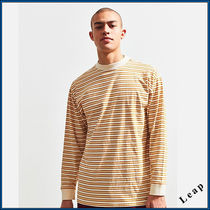 【UrbanOutfitters】 先取新作!ストライプTシャツ・Brown★