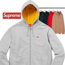 Supreme  Contrast Zip Up Hooded Sweatshirt  18SS  WEEK 13