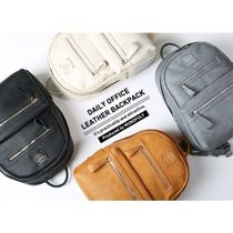 monopoly(モノポリー) バックパック・リュック Monopoly◆Daily Office Leather Backpack◆A4サイズ収納