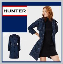 HUNTER women's original refined トレンチコート