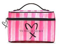 VS Signature Stripe Weekender Train Case メイクボックス