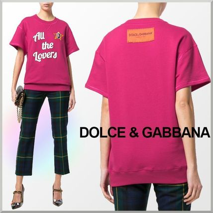 18SS★Dolce&Gabbana ロゴパッチ付き スウェット All The Lovers
