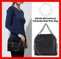 ☆人気【Stella McCartney】☆ Falabella Mini Tote Bag ☆BLK☆