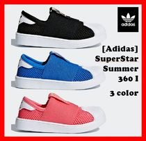 韓国の人気【ADIDAS】★KIDS SuperStar Summer 360 I  ★3色★