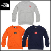 THE NORTH FACE★K'S SQUARE LOGO SWEAT SHIRTS★キッズ★3色