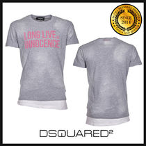 D SQUARED2 ディースクエアード プリントTシャツ S71GD0646