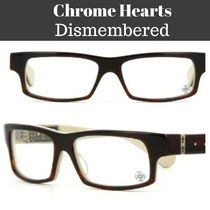 ★Chrome Hearts★Dismemberedスクエアメガネフレーム