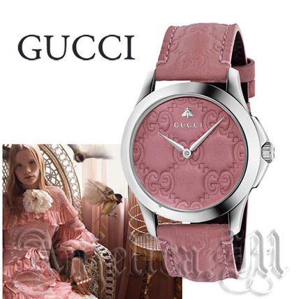 ★追跡便発送★GUCCI G-Timeless Candy Pink  Ladies YA1264030