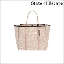 【State of Escape】 FLYING SOLO TOTE IN BLUSH