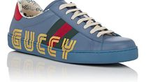 ☆GUCCI☆ Men's New Ace Leather Sneakers
