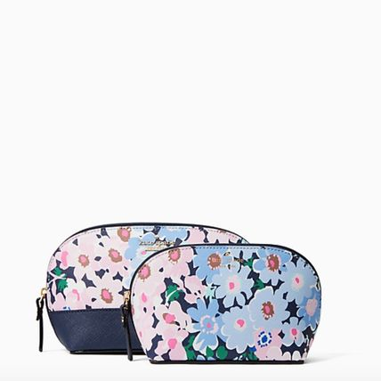 kate spade new york メイクポーチ 【Kate Spade】フラワーモチーフ♪コスメポーチ(2)