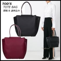 *TOD'S トッズ*バイカラー レザー トートバッグ 2色♪