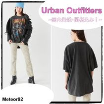 送料込*Urban Outfitters*Nirvana Unplugged/Tシャツ/ブラック