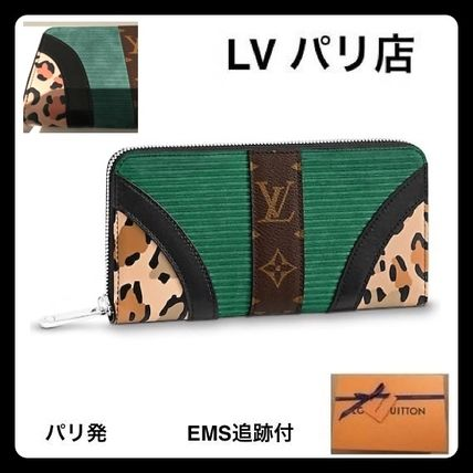 【Louis Vuittonパリ店】ジッピー・ウォレット レオパード柄
