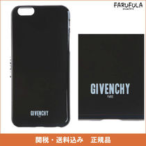 GIVENCHY iphone 6 ケース 黒 ロゴ