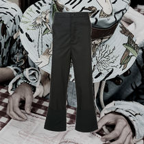 **LOEWE** 2018SS flared cropped trousers クロップドパンツ