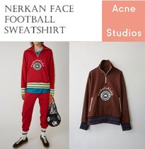 Acne Nerkan Face Football sweatshirt サッカースウェット 2色