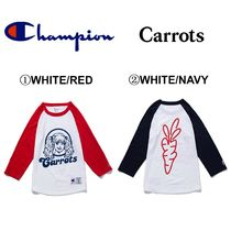 Carrots By Anwar Carrots(キャロッツ) シャツ 【Carrots】☆日本未入荷☆新商品☆CARROTS CHAMPION RAGLAN