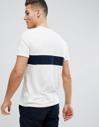 Abercrombie & Fitch Tシャツ・カットソー SALE【A&F】ロゴポケット 半袖 Tシャツ ホワイト / 送料無料(4)