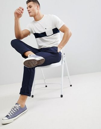 Abercrombie & Fitch Tシャツ・カットソー SALE【A&F】ロゴポケット 半袖 Tシャツ ホワイト / 送料無料(5)
