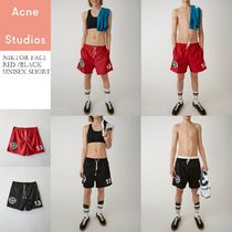 Acne Niktor Face Football unisex short ユニセックスショーツ