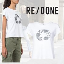 【18AW】★RE/DONE★Recycle ロゴ Tシャツ