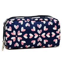 LeSportsac ポーチ RECTANGULAR COSMETIC ネイビー系 6511 D717