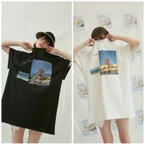 ANOTHER A(アナザーエー) Tシャツ・カットソー ANOTHER A(アナザーエー)のSlit boxy t-shirt 全2色