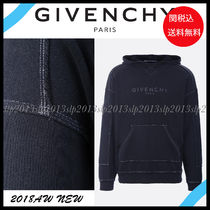 19New■GIVENCHY■Vintage加工 フロントロゴフーディー☆関税込