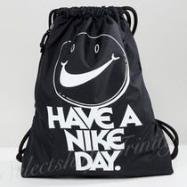 6月初旬入荷&国内発送【NIKE】Logo Black Drawstring Backpack