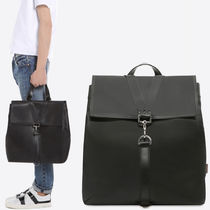 18SS VM199 CALF LEATHER BACKPACK