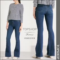【国内発送・関税込】TOPSHOP★Jamie flared high-rise jeans