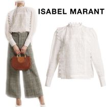 【18SS】大注目★ISABEL MARANT★Nutson embroidered blouse
