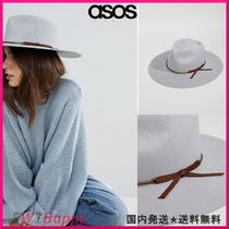 ★ASOSBrixton Structured Hat in Grey with Metal Band