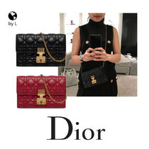 Dior【2-5日着】DIORADDICT WALLET ON CHAIN クラッチ*国内発送*