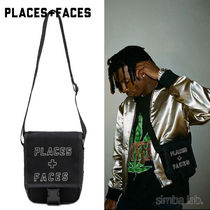 PLACES+FACES Logo Side Bag ショルダーバッグ ポーチ