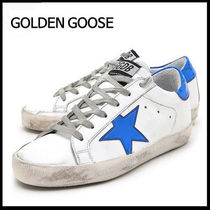 (ゴールデングース) GOLDEN GOOSE G31WS590 C75 WHITE BLUE STAR