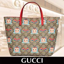 GUCCI Childrens GG Dolls and Bows Tote 関税送料込