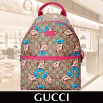 GUCCI Childrens GG Fawns Backpack 関税送料込
