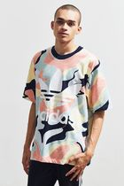 Urban Outfitters☆adidas メンズ HZA Valley プリントTシャツ